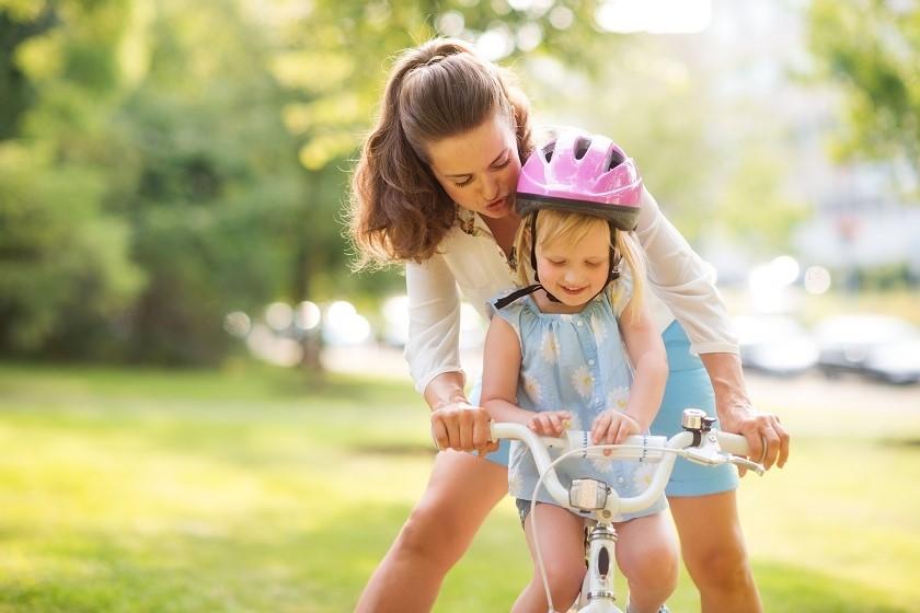 Początek nowej przygody: nauka jazdy na rowerze