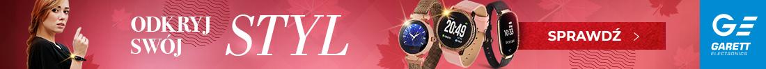 Gatett Stylowy zegarek