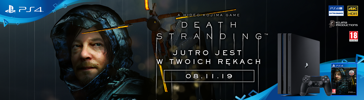 Death Stranding PREMIERA