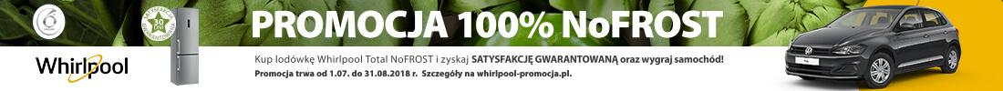 Whirlpool 100 procent NoFrost