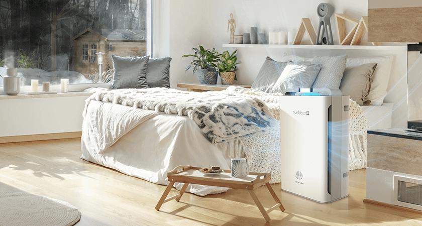 oczyszczacz powietrza w domu