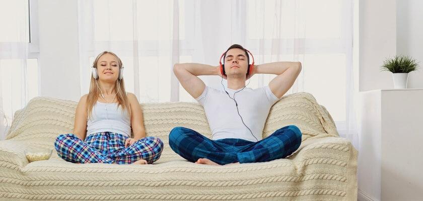 para slucha muzyki